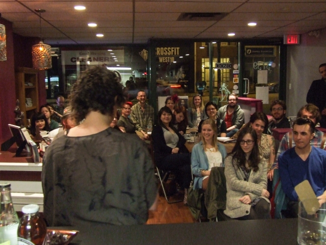 Rachel & our fantastic Swoon audience