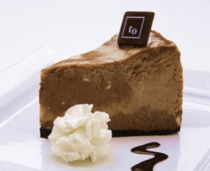 "Tree's ""Chocoholic Cheesecake,"" one of several very tempting flavours... (Via their website)"
